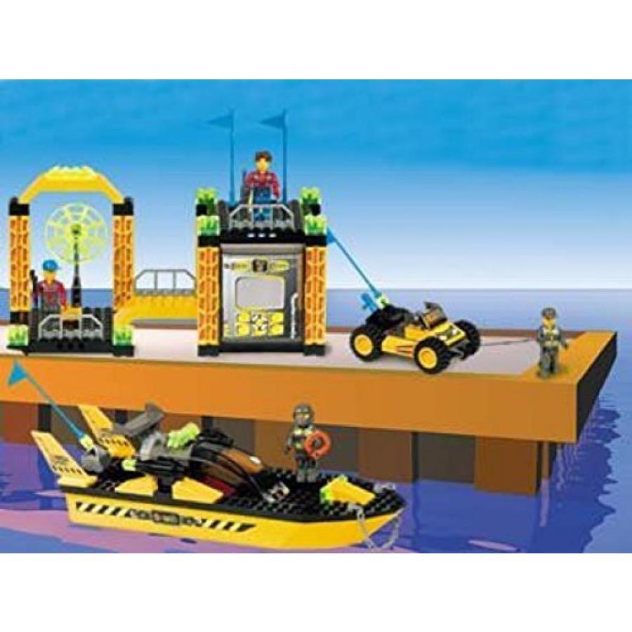 おもちゃ ゲーム 積み木 レゴ ブロック LEGO Jack Stone Res-Q Super Station. Model 4610***RARE***ミニフィギュア