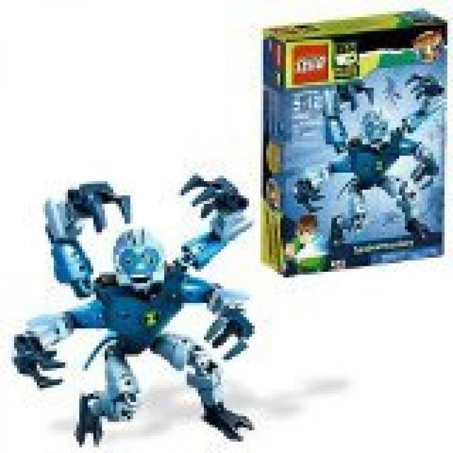 おもちゃ ゲーム 積み木 レゴ ブロック Lego Ben 10 Alien Force Series 8 Inch Tall Action Figure Set # 8409 - SPIDERMONKEY with Glow In The Dark Eyes