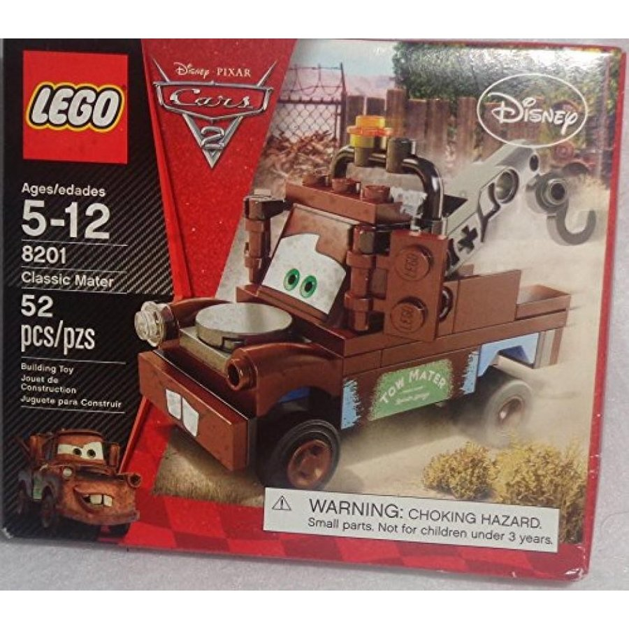 おもちゃ ゲーム 積み木 レゴ ブロック Cars 2 Radiator Springs Classic Mater (Lego 8201)ミニフィギュア