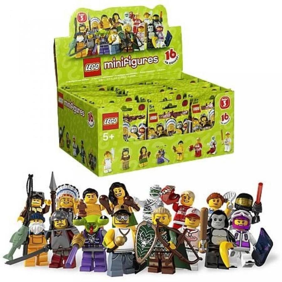 おもちゃ ゲーム 積み木 レゴ ブロック LEGO 8803 Minifigures Series 3 10-Packミニフィギュア