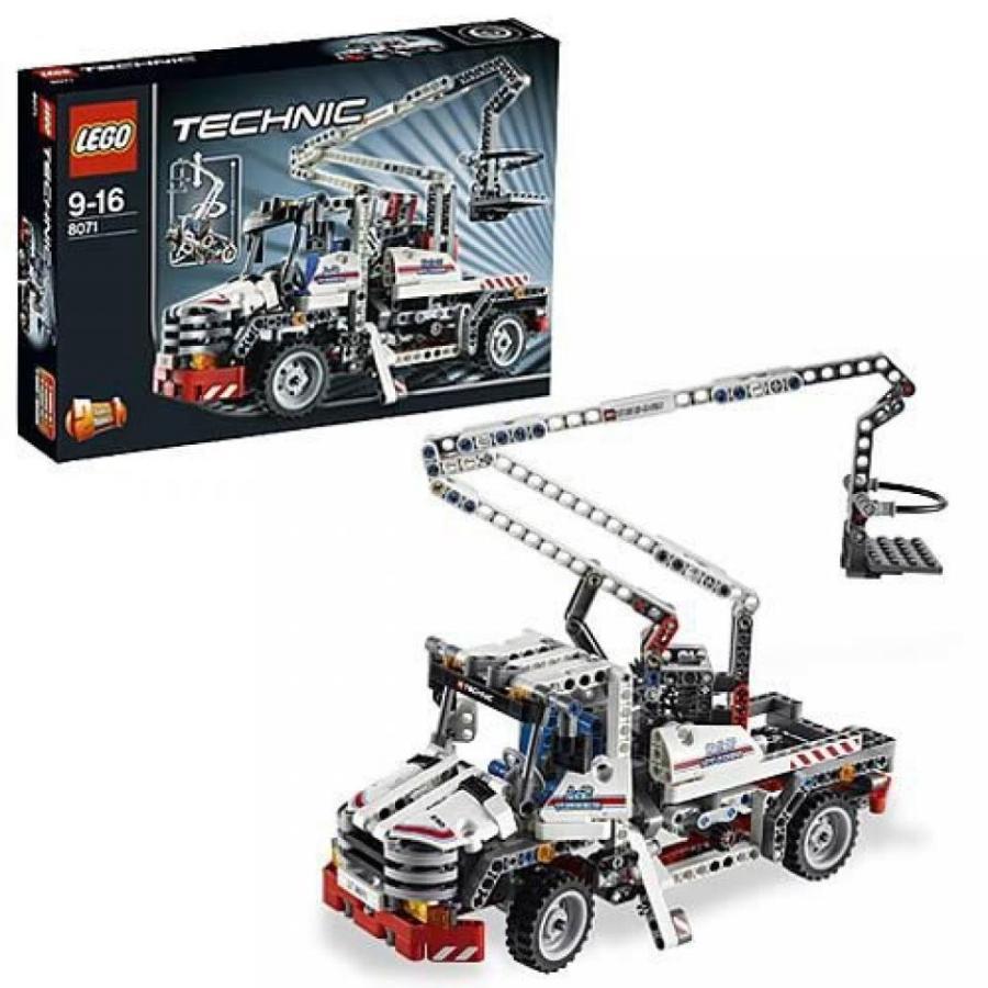 おもちゃ ゲーム 積み木 レゴ ブロック LEGO Technic Bucket Truck 8071ミニフィギュア