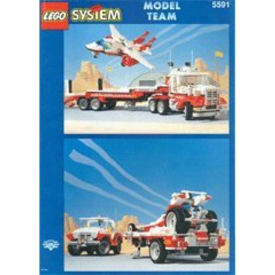 おもちゃ ゲーム 積み木 レゴ ブロック LEGO Model Team 5591 Mach II 赤 Bird Rigミニフィギュア
