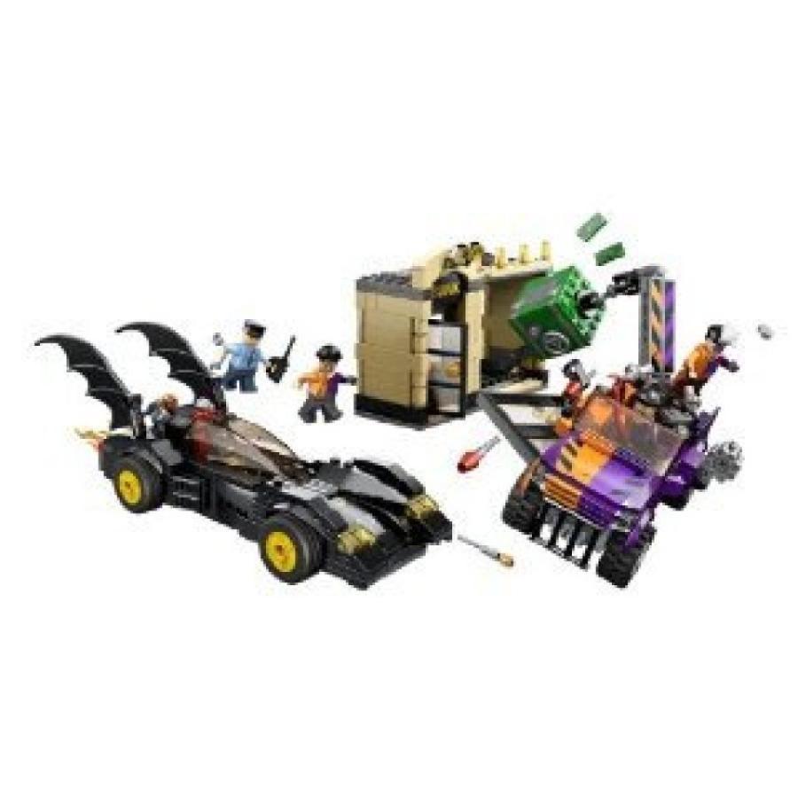 おもちゃ ゲーム 積み木 レゴ ブロック LEGO Super Heroes Batmobile and The Two-Face Chase 6864 (Discontinued by manufacturer)ミニフィギュア