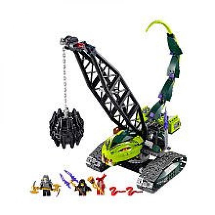 おもちゃ ゲーム 積み木 レゴ ブロック LEGO Ninjago Set #9457 Fangpyre Wrecking Ballミニフィギュア