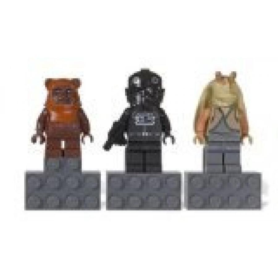 おもちゃ ゲーム 積み木 レゴ ブロック LEGO Star Wars Magnet Set Jar Jar Binks V-Wing Pilot Wicket Ewok #853414ミニフィギュア