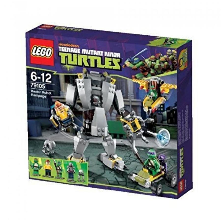 おもちゃ ゲーム 積み木 レゴ ブロック Lego 79105 Teenage Mutant Ninja Turtles - L'attaque du robot de Baxterミニフィギュア