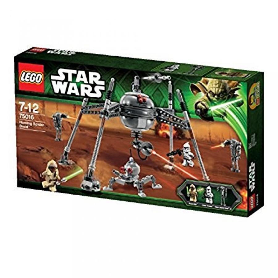 おもちゃ ゲーム 積み木 レゴ ブロック LEGO Star Wars Set #75016 Homing Spider Droidミニフィギュア