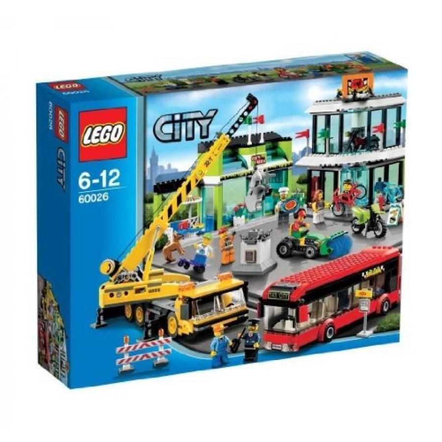 おもちゃ ゲーム 積み木 レゴ ブロック LEGO City Shopping Square 60026 (japan import)ミニフィギュア