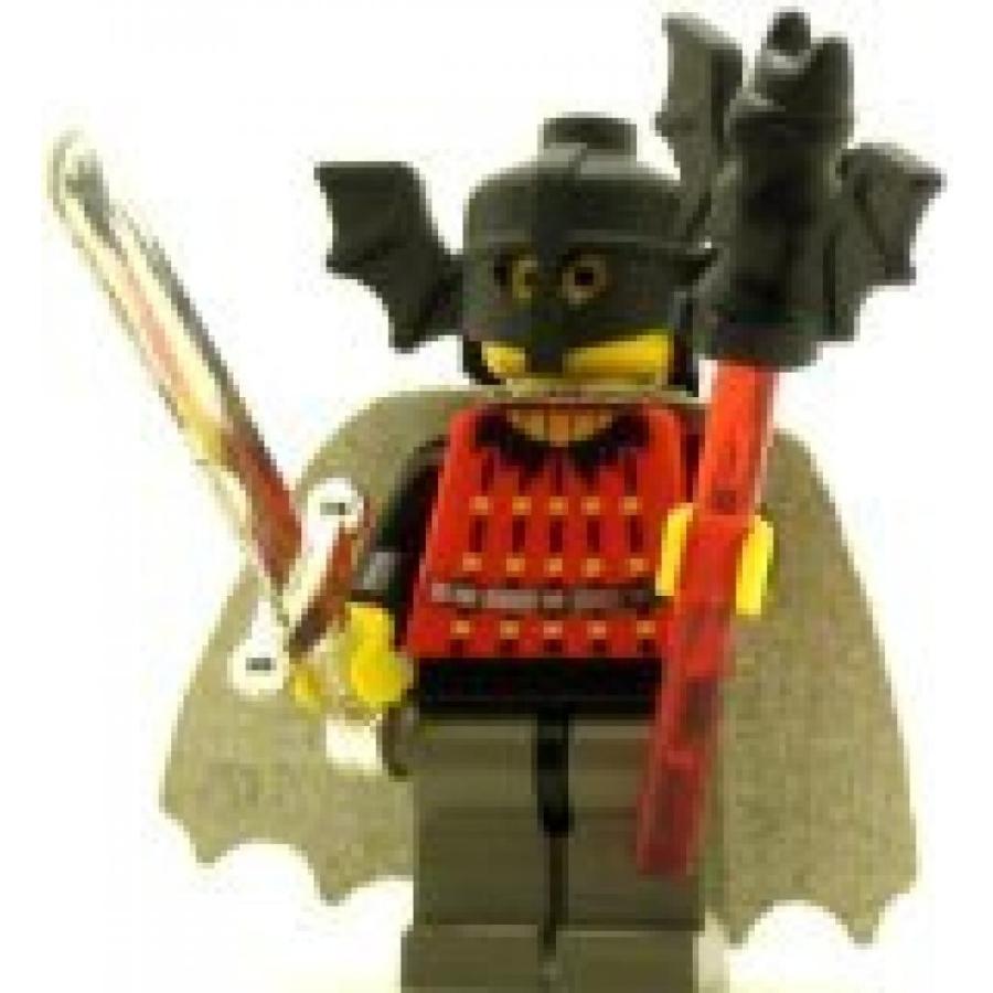 おもちゃ ゲーム 積み木 レゴ ブロック LEGO Castle Minifig Fright Knights Bat Lord with Capeミニフィギュア