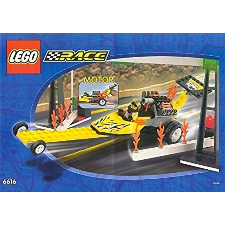 おもちゃ ゲーム 積み木 レゴ ブロック Lego Rocket Dragster 6616ミニフィギュア