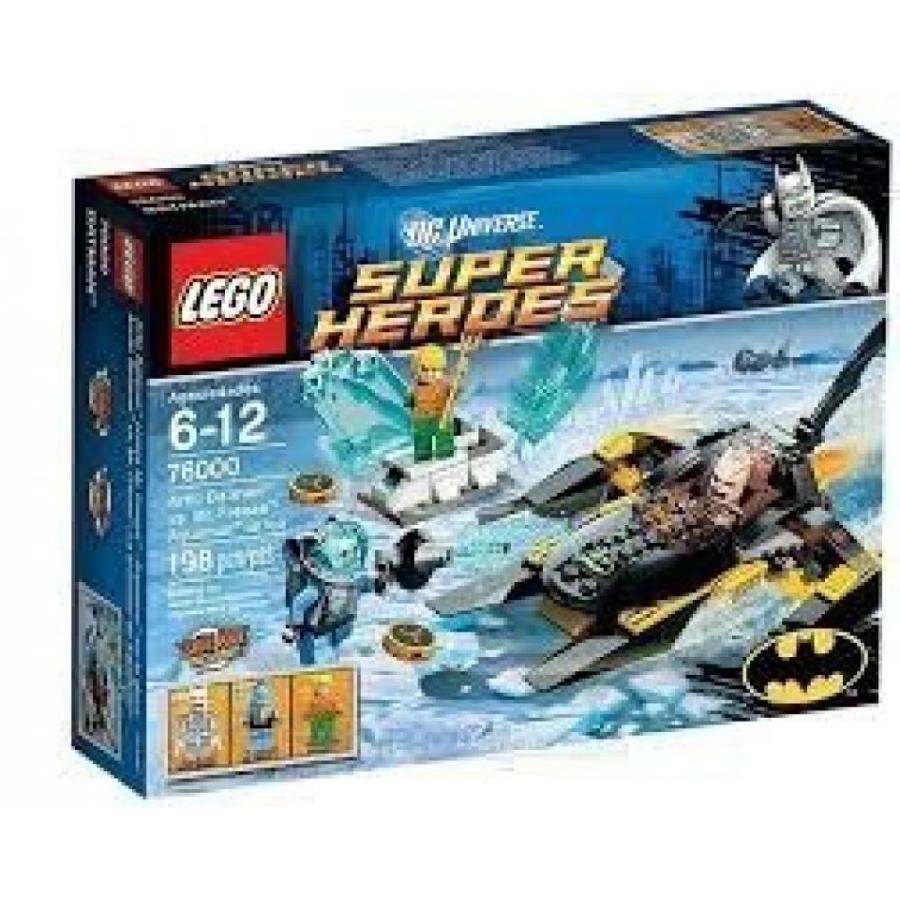 おもちゃ ゲーム 積み木 レゴ ブロック Game / Play LEGO Super Heroes Arctic Batman vs Mr Freeze 76000, Features Batboat and exploding ice block Toy /