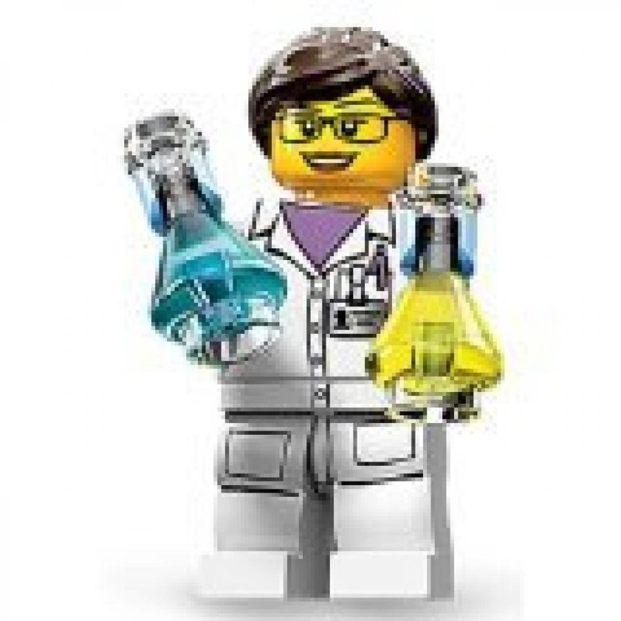 おもちゃ ゲーム 積み木 レゴ ブロック LEGO Minifigures Series 11, Female Scientistミニフィギュア