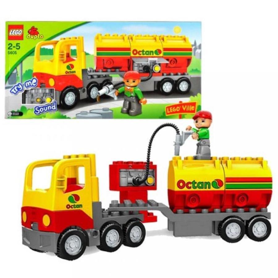 おもちゃ ゲーム 積み木 レゴ ブロック Lego Year 2008 Duplo Lego Ville Series Vehicle Set # 5605 - OCTAN TANKER Truck Set with Sounds and Driver