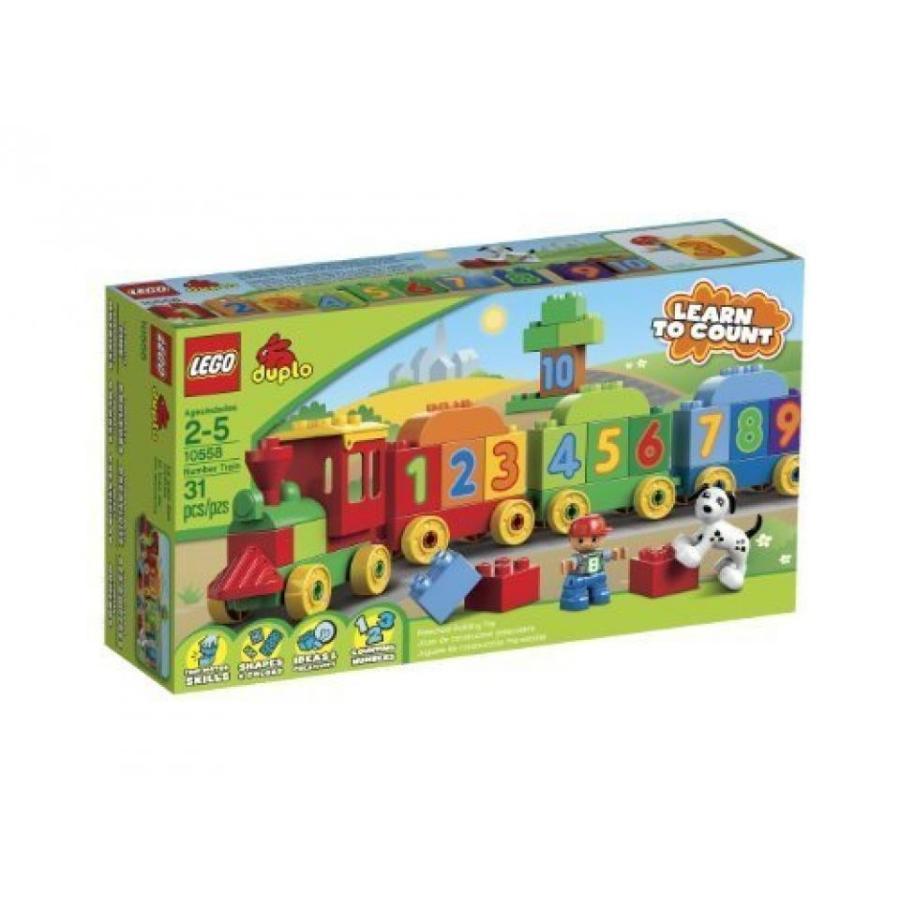 おもちゃ ゲーム 積み木 レゴ ブロック LEGO DUPLO Number Train 10558 [Holiday Gifts]ミニフィギュア