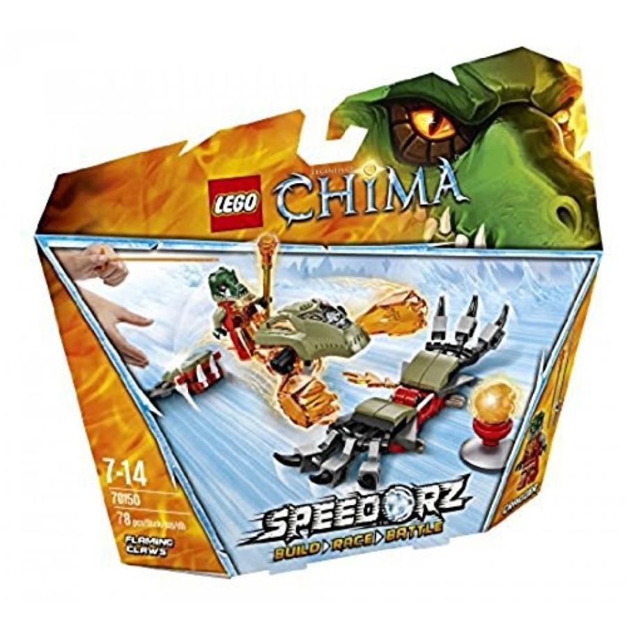 おもちゃ ゲーム 積み木 レゴ ブロック Lego Chima Fire Claw 70150ミニフィギュア