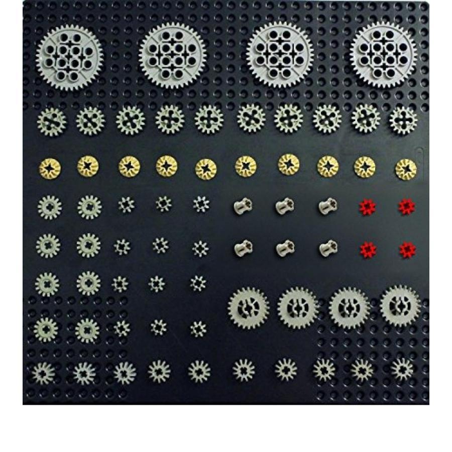おもちゃ ゲーム 積み木 レゴ ブロック LEGO Technic 68 pcs GEAR Pack Set Lot Mindstorms NXT Supplemental Robot Motor Parts Pieces