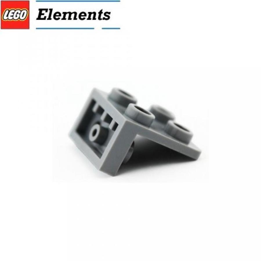 おもちゃ ゲーム 積み木 レゴ ブロック Lego Parts: Bracket 1 x 2 - 2 x 2 Inverted (LBGray)ミニフィギュア