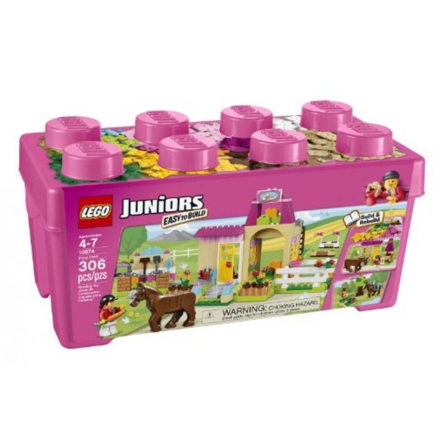 おもちゃ ゲーム 積み木 レゴ ブロック LEGO Juniors 10674 Pony Farmミニフィギュア