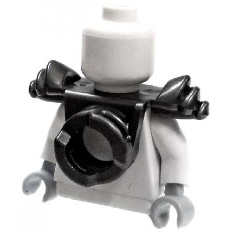 おもちゃ ゲーム 積み木 レゴ ブロック LEGO LOOSE Armor Flat 銀 Shoulder Pads with Scabbard for Two Katanasミニフィギュア
