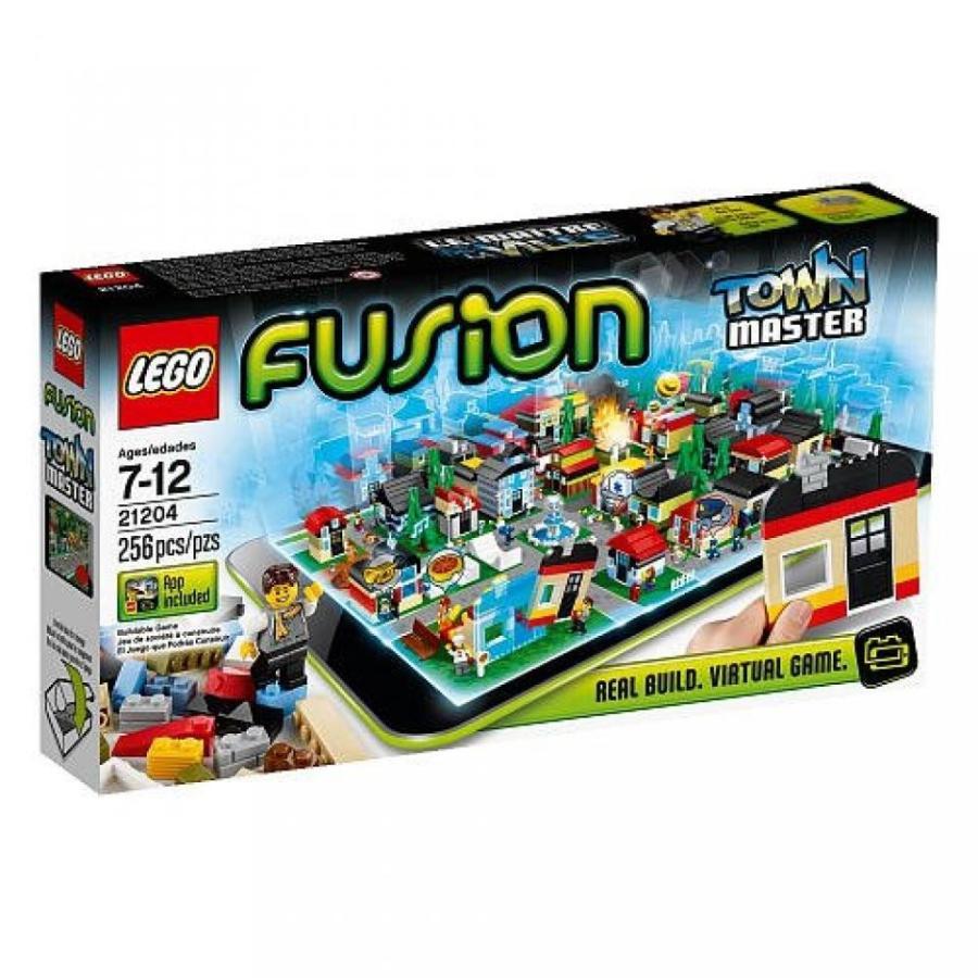 おもちゃ ゲーム 積み木 レゴ ブロック Lego Fusion Town Master 21204ミニフィギュア