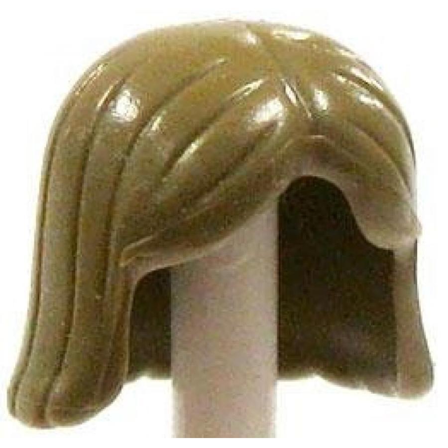 おもちゃ ゲーム 積み木 レゴ ブロック LEGO Minifigure Parts Dirty Blonde Shoulder Length Loose Hair [Loose]ミニフィギュア