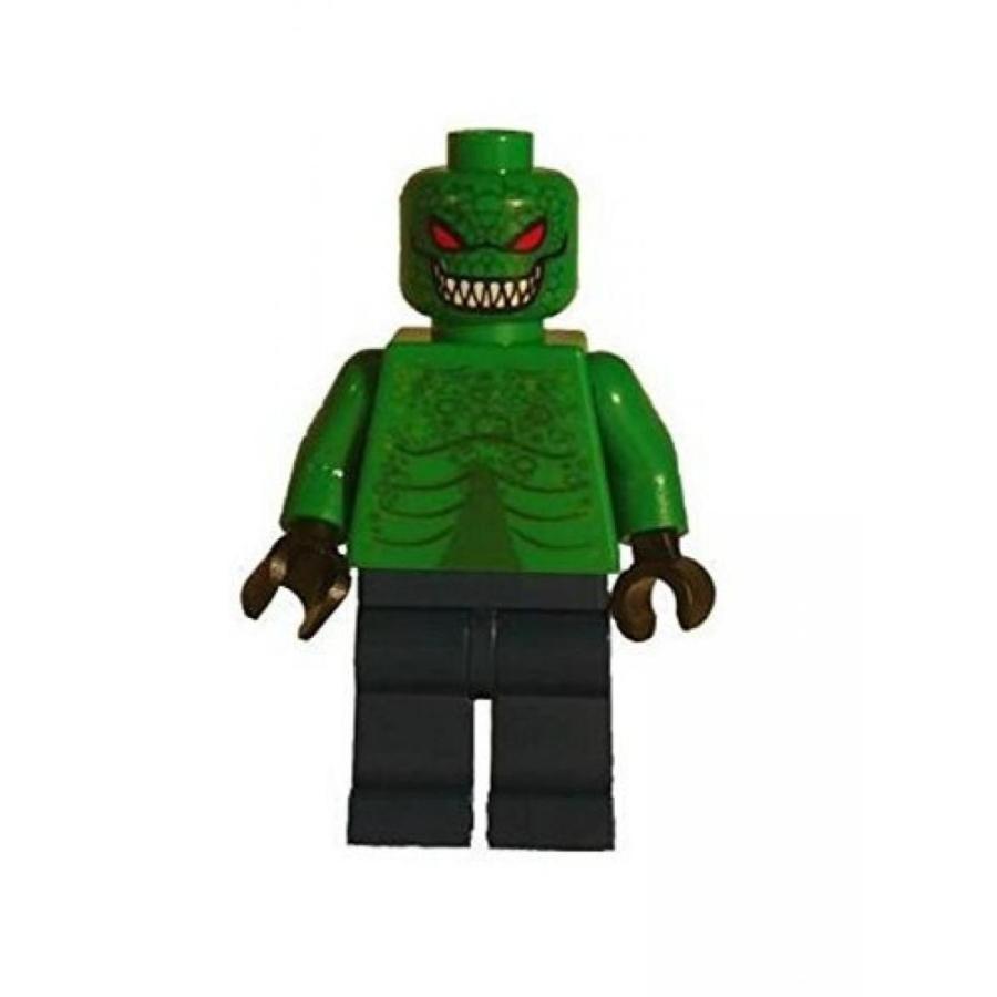 おもちゃ ゲーム 積み木 レゴ ブロック LEGO KILLER CROC Minifigure with Torso Variation: Lego Batman figureミニフィギュア