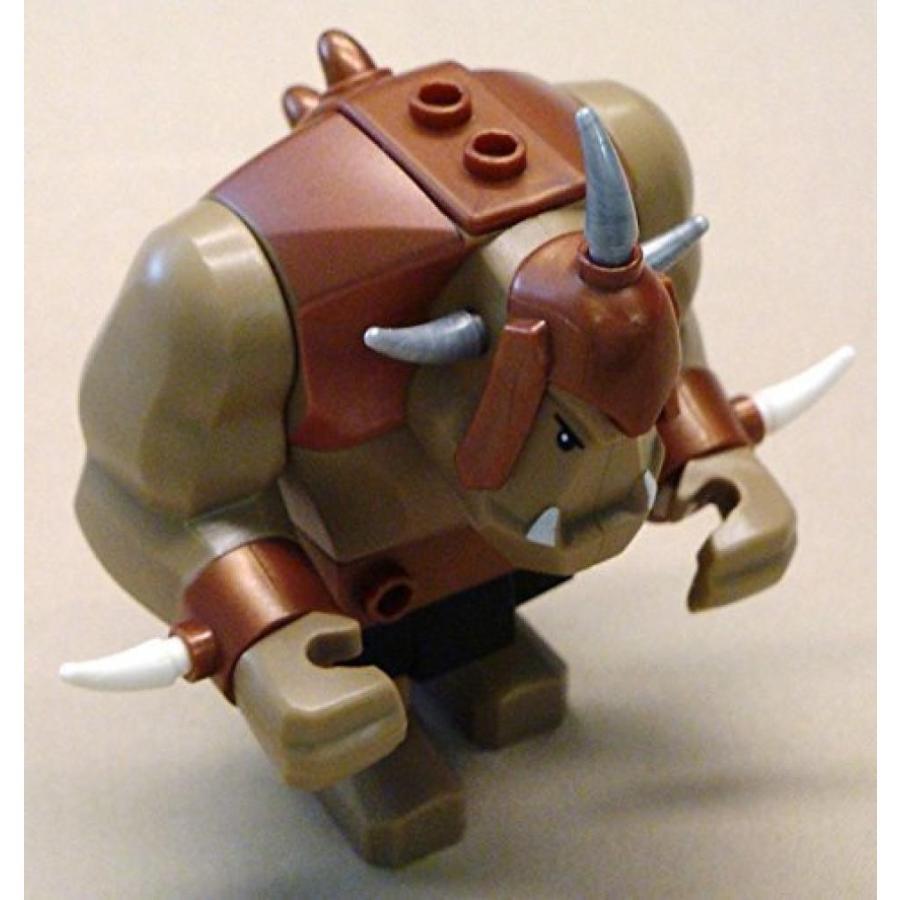 おもちゃ ゲーム 積み木 レゴ ブロック Lego Big Tan Orc Troll Guy Castle Minifig x1 Looseミニフィギュア