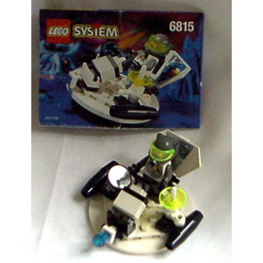 おもちゃ ゲーム 積み木 レゴ ブロック Lego 6815 Vintage Space Explorians HOVERTRON 100% Complete w/ Manual 1996 NO BOXミニフィギュア