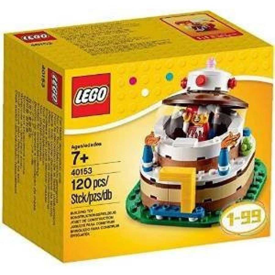 おもちゃ ゲーム 積み木 レゴ ブロック Overseas Limited Lego lego 40153 Birthday Decoration Cake Set cake set 120 piece [parallel import