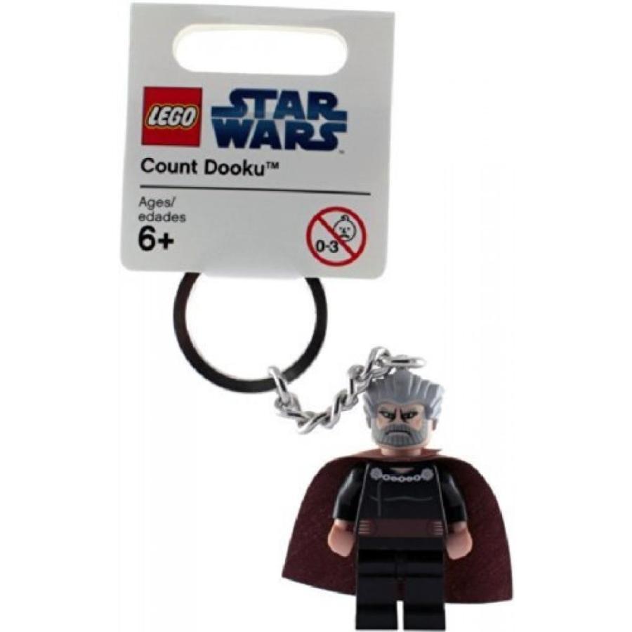 おもちゃ ゲーム 積み木 レゴ ブロック Star Wars irregularities LEGO key chain CLONE WARS Clone Wars Count Dooku [parallel import]ミニフィギュア