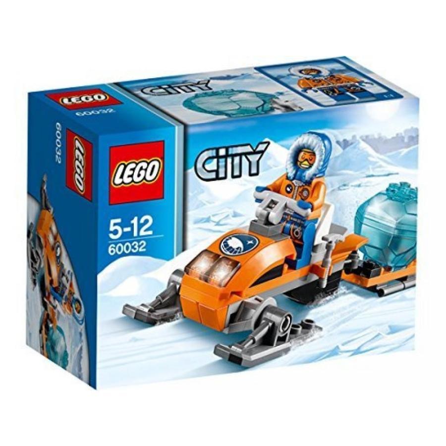 おもちゃ ゲーム 積み木 レゴ ブロック LEGO (LEGO) City snowmobiles 60032ミニフィギュア