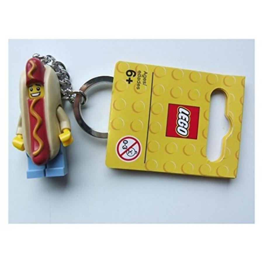 おもちゃ ゲーム 積み木 レゴ ブロック [Lego] LEGO Hot Dog Guy Key Chain 853571 [parallel import goods]ミニフィギュア