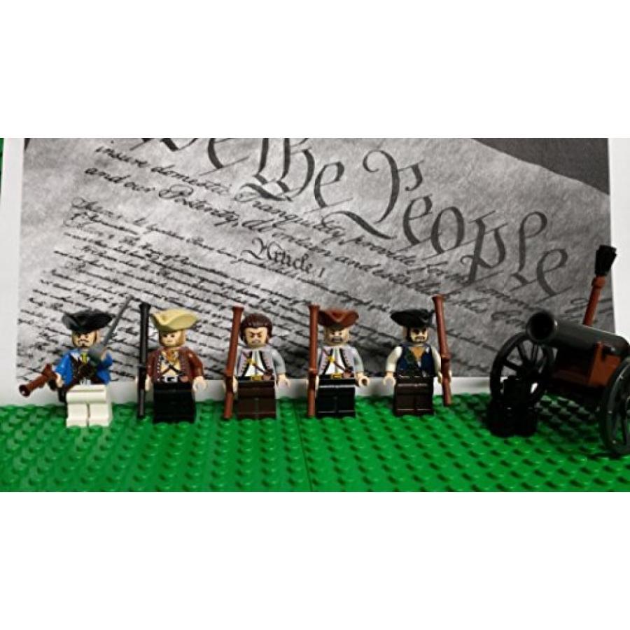 おもちゃ ゲーム 積み木 レゴ ブロック LEGO Revolutionary War era Minutemen militia soldiers authentic LEGO parts and piecesミニフィギュア