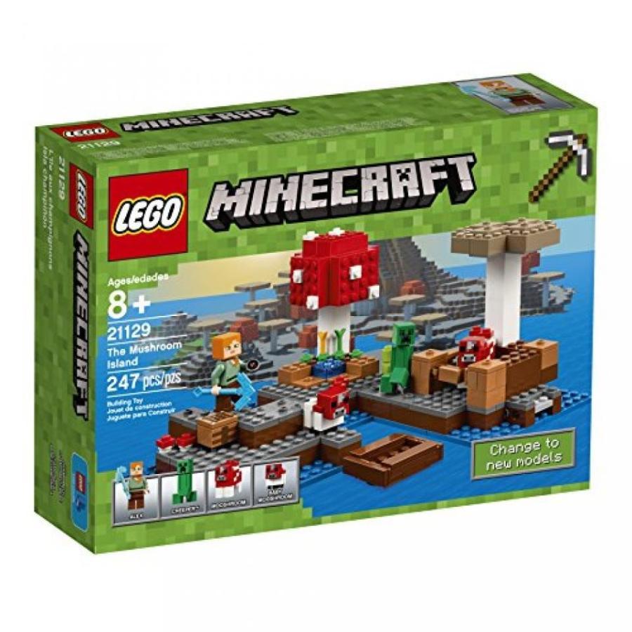 おもちゃ ゲーム 積み木 レゴ ブロック LEGO Minecraft The Mushroom Island 21129ミニフィギュア