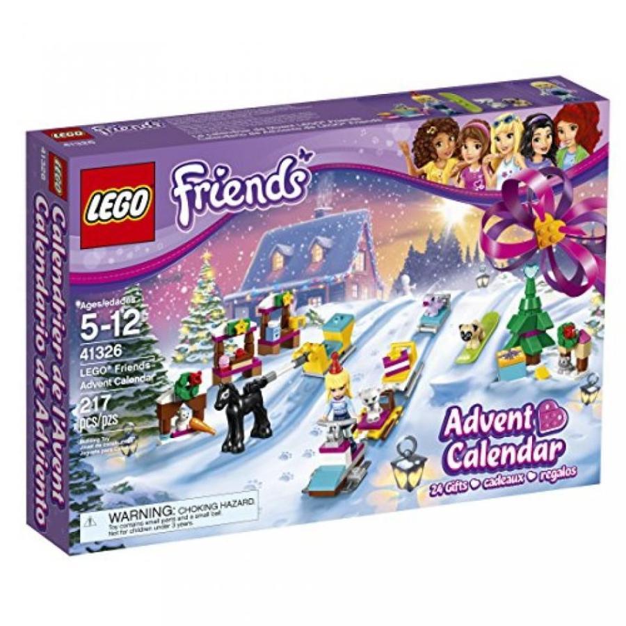 おもちゃ ゲーム 積み木 レゴ ブロック LEGO Friends Advent Calendar 41326 Building Kit (217 Piece)ミニフィギュア