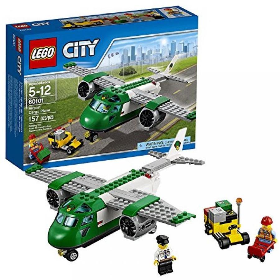 おもちゃ ゲーム 積み木 レゴ ブロック Lego Year 2016 City Series Set #60101 - AIRPORT CARGO PLANE with Airport Service Car Plus Pilot and Airport