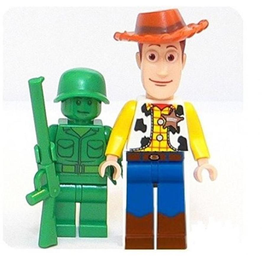 おもちゃ ゲーム 積み木 レゴ ブロック LEGO Disney Toy Story - Minifigures Woody and 緑 Army - Looseミニフィギュア