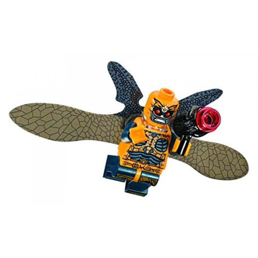 おもちゃ ゲーム 積み木 レゴ ブロック LEGO DC Super Heroes Justice League Minifigure - Parademon Wings 黄 (76087)ミニフィギュア