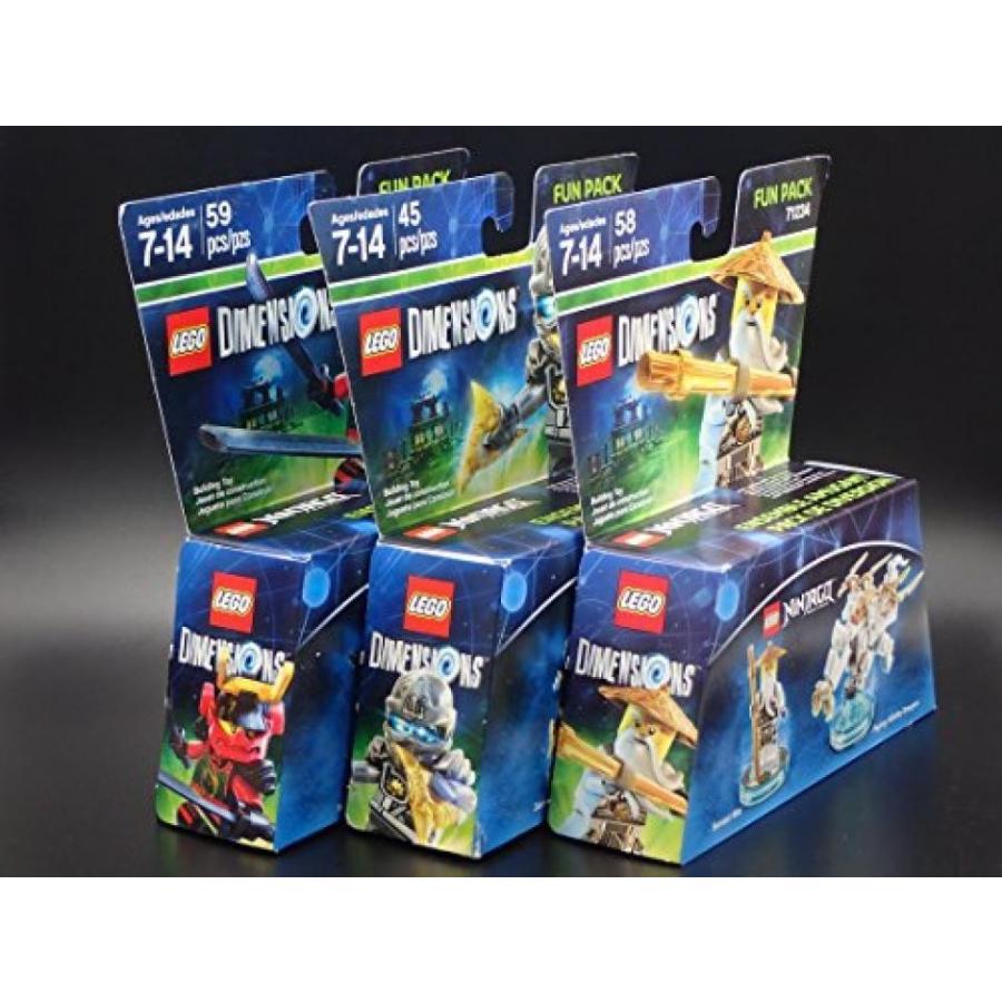 おもちゃ ゲーム 積み木 レゴ ブロック Lego Dimensions 3-Pack Ninjagoミニフィギュア