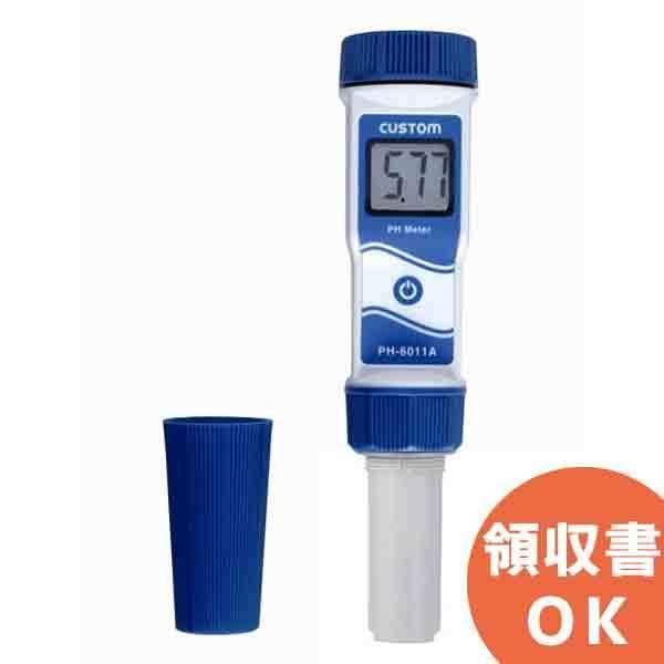PH-6011A カスタム センサー交換が可能なATC(自動温度補正機能)つき防水型pH計