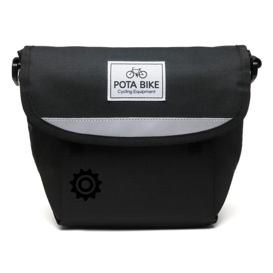 POTA BIKE(ポタバイク) セミハードフロントバッグ for ミニベロ denden 16