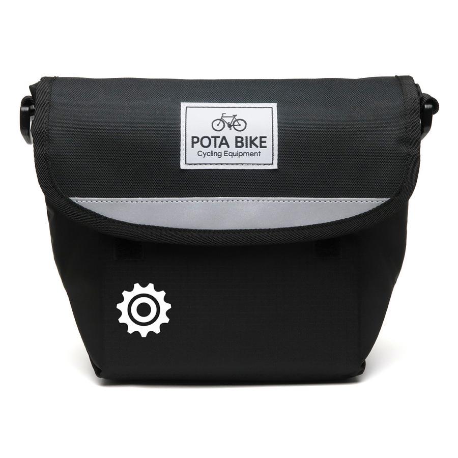 POTA BIKE(ポタバイク) セミハードフロントバッグ for ミニベロ denden 17