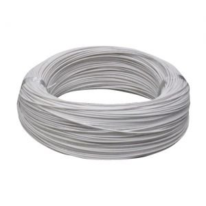 住電日立ケーブル 600V ビニル絶縁電線 アース線 より線 3.5mm2 300m巻 白 IV3.5SQ×300mシロ