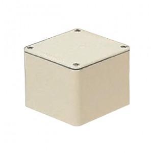 未来工業 防水プールボックス 平蓋 正方形 ノックなし 450×450×300 ミルキーホワイト PVP-4530AM