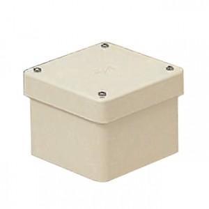 未来工業 8個セット 防水プールボックス カブセ蓋 正方形 ノックなし 200×200×100 ミルキーホワイト PVP-2010BM_8set