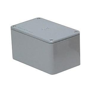 未来工業 防水プールボックス 平蓋 長方形 ノックなし 600×400×350 グレー PVP-604035A