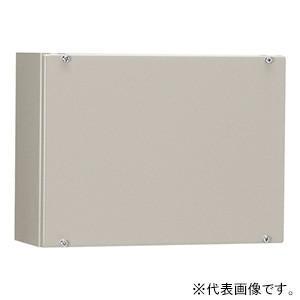 日東工業 コントロールボックス カバー式 鉄製基板付 横500×縦300×深160mm TC16-53A