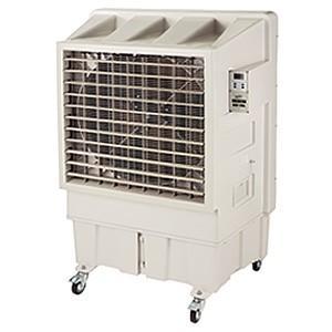 生産完了品 ナカトミ 大型冷風扇 使用範囲目安100〜200m2 単相100V 風量3段階切替 BCF-90L