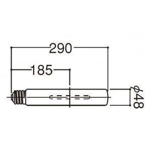 岩崎電気 FECサンルクスエース 透明形 360W NHT360LS