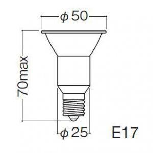 岩崎電気 ケース販売 10個セット アイ ダイクロクールハロゲンplus省電力タイプ φ50 110V 75W形 75W形 広角 E17口金 JDR110V50WUV/WK/H2/E17_set
